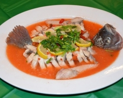 Steamed Thai Fish